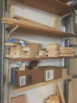 Garage - Scrap Wood