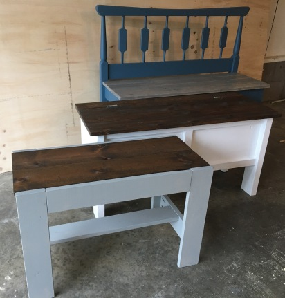 3 benches