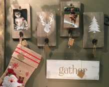 Christmas-Photo Holders